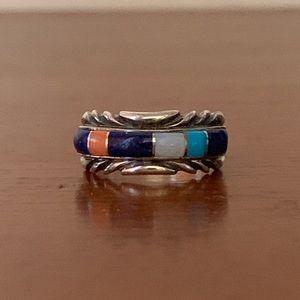 Vintage Native American Sterling Tim Bedah Ring